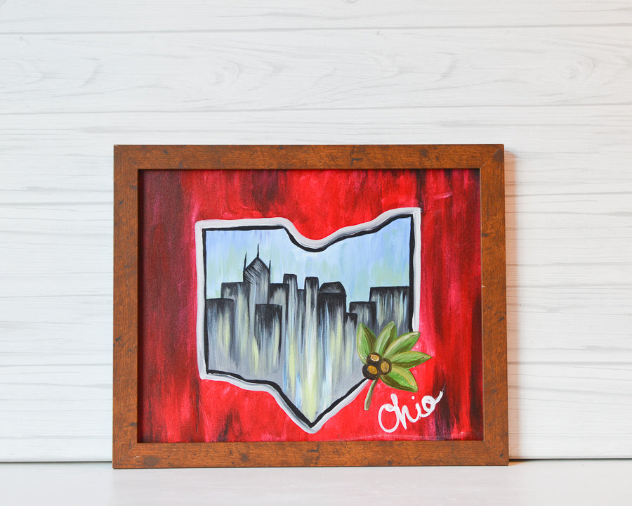 "Wednesday, March 18, 2020: ""Capital City"" Canvas Painting @ Studio 614"