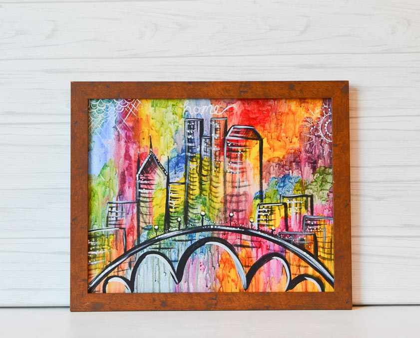 "Tuesday, February 18, 2020: ""Colorful Columbus"" Canvas Painting @ Grove City Brewing Company"