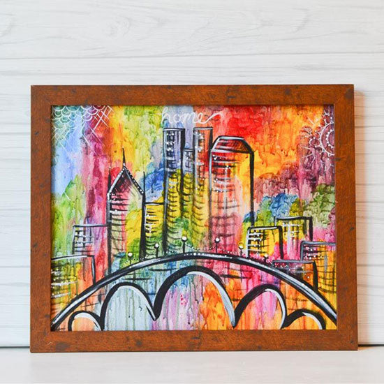 "Saturday, August 15, 2020: ""Colorful Columbus"" Canvas Painting @ Studio 614"