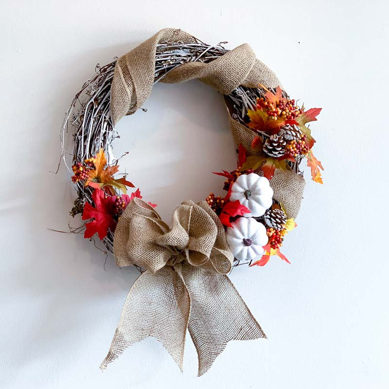 "Sunday, October 4, 2020: ""Fall Wreath Workshop"" @ Studio 614"