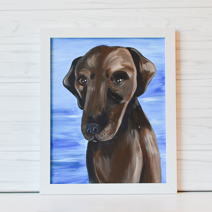 "Sunday, August 16, 2020: ""Paint Your Pet"" Canvas Painting @ Studio 614"