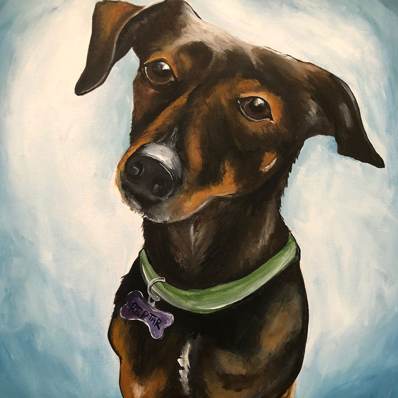 "Sunday, January 26, 2020: ""Paint Your Pet"" Canvas Painting @ BrewDog DogTap!"
