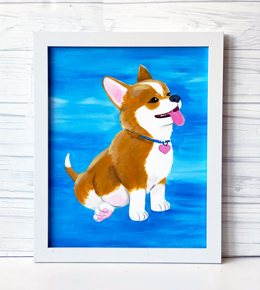 "Thursday, July 16, 2020: ""Paint Your Pet"" Canvas Painting @ Studio 614"