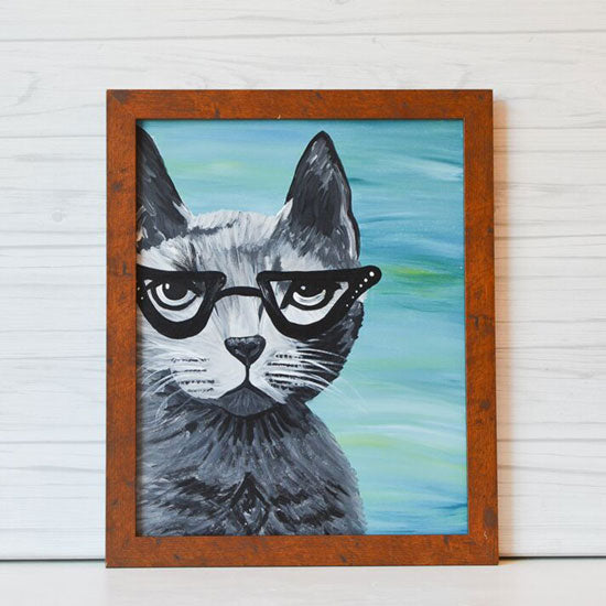 "Saturday, March 16, 2019: ""Paint Your Pet"" Canvas Painting @ Studio 614"