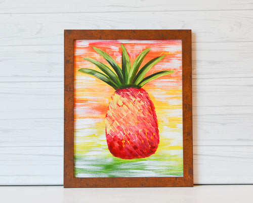 "Saturday, August 3, 2019: ""Summer's Bachelorette Party"" Canvas Painting Class @ Studio 614"
