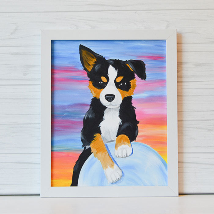 "Saturday, October 10, 2020: ""Paint Your Pet"" Canvas Painting @ Studio 614"