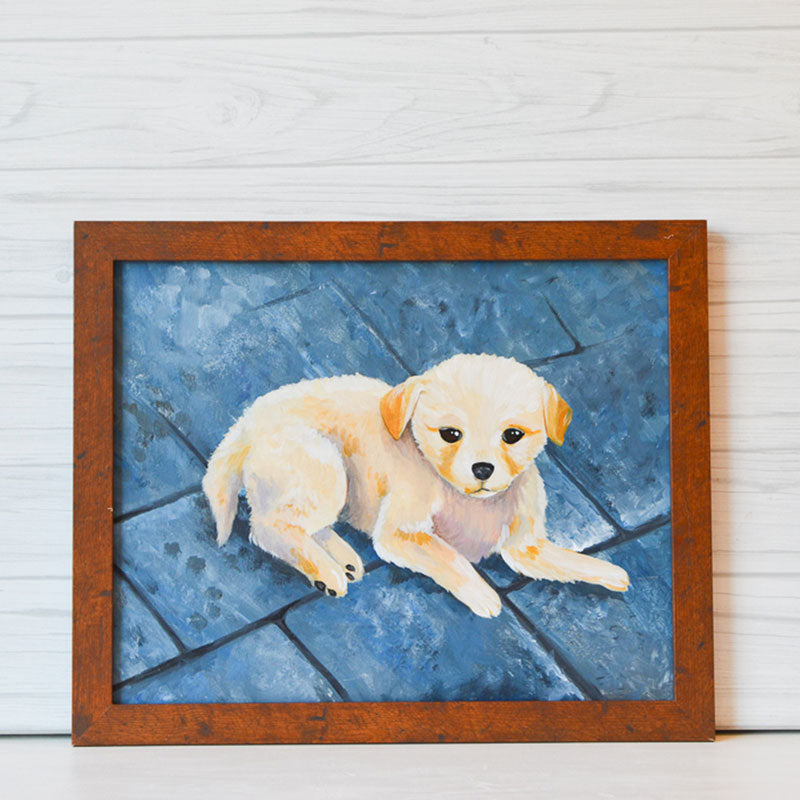 "Thursday, May 13, 2021: ""Paint Your Pet"" Canvas Painting @ Studio 614"