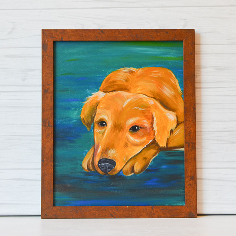 "Thursday, July 2, 2020: ""Paint Your Pet"" Canvas Painting @ Studio 614"