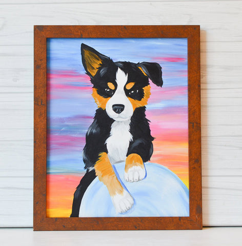 "January 20, 2019: ""Paint Your Pet"" Canvas Painting with IncrediPAWS @ Roosters (Pickerington)"