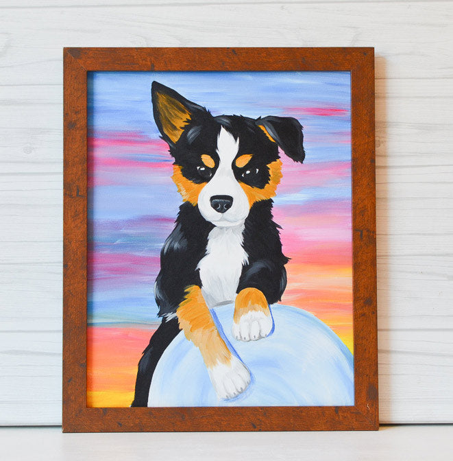 "Saturday, June 13, 2020: ""Paint Your Pet"" Canvas Painting @ Studio 614"