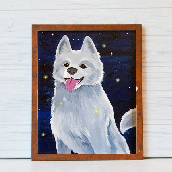 "Thursday, January 16, 2020: ""Paint Your Pet"" Canvas Painting @ Studio 614"