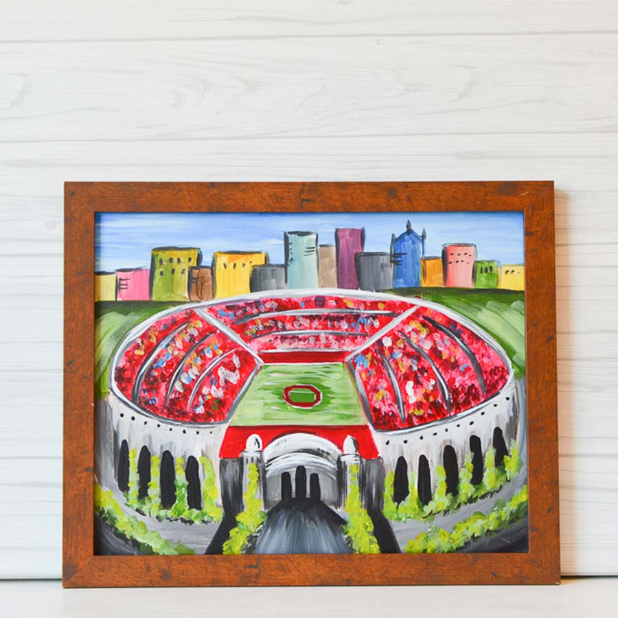 "Thursday, September 17, 2020: ""The Shoe"" Canvas Painting @ Studio 614"