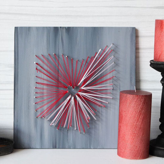 "Saturday February 8, 2020: ""String Art Workshop"" @ Studio 614"