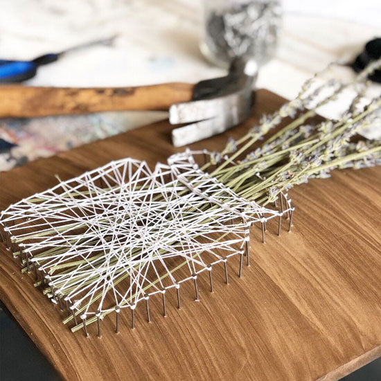 "Saturday, February 29, 2020: ""String Art Workshop"" @ Studio 614"
