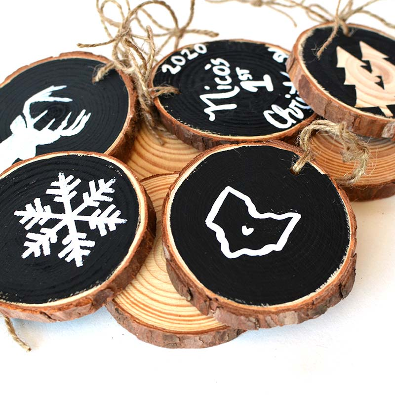 Sunday, December 13, 2020: Wood Ornament Painting @ Brewdog *Canal Winchester*