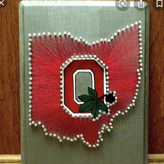 Sunday October 18, 2020: String Art (Zoom Party) for OSU Residents