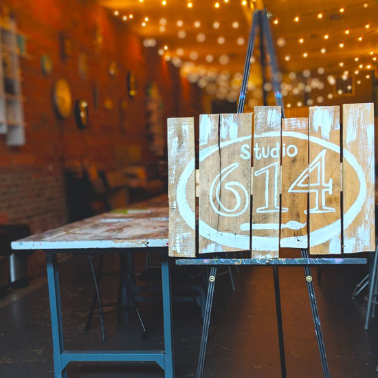 Friday, April 23, 2021: Bridal Party Planned by Gina @ Studio 614