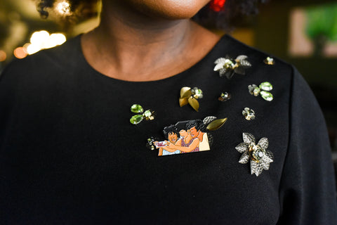 Naturals Who Brunch Pin