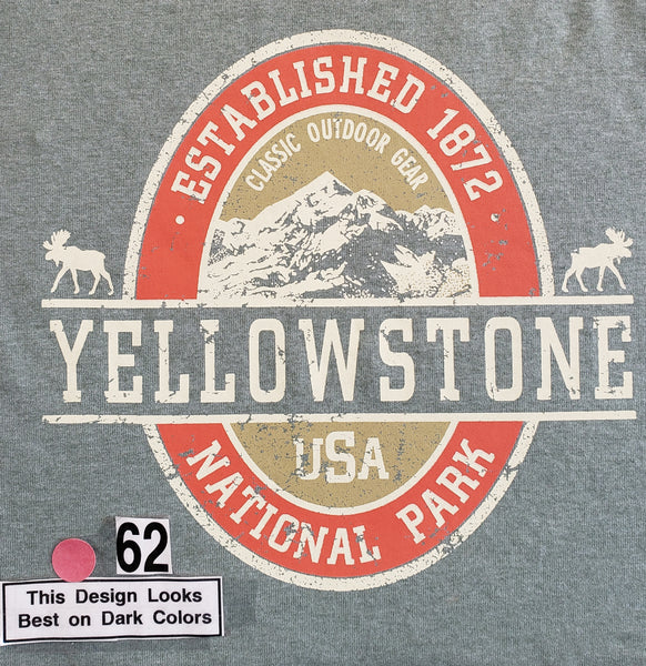 #62 Yellowstone Beer Label