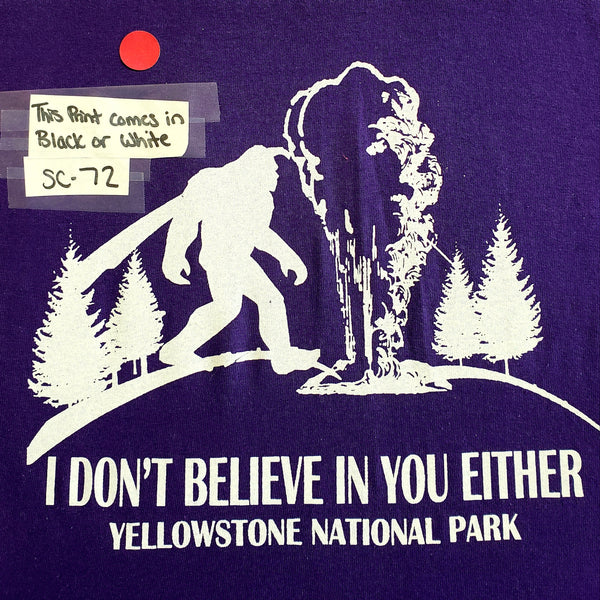 #SC-72 Yellowstone Bigfoot