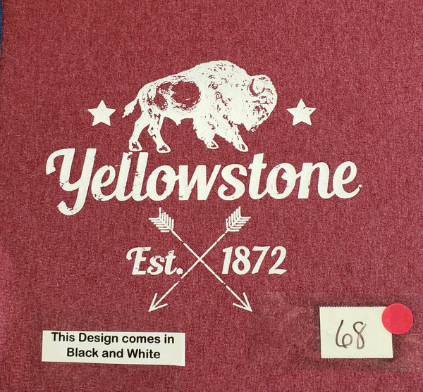 #68 Yellowstone Bison with Arrows