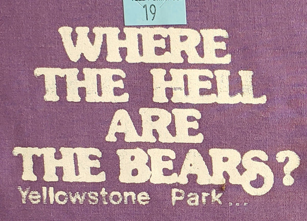 Where the Hell Are the Bears? Pocket