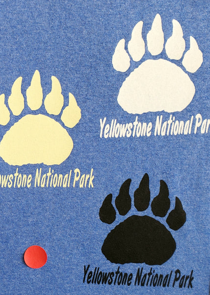 Yellowstone Bear Paw Pocket