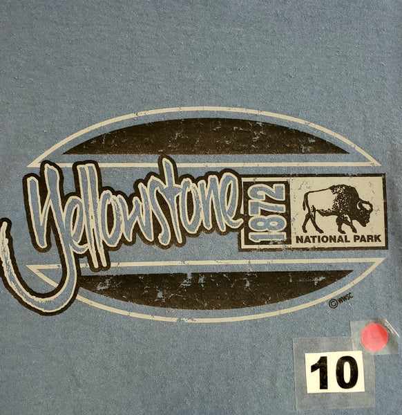 #10 Yellowstone Oval Bison