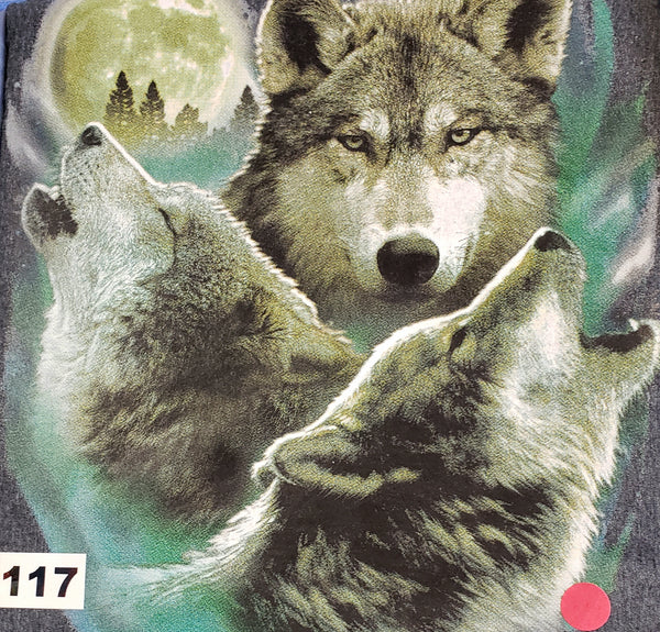 #117 Three Wolves