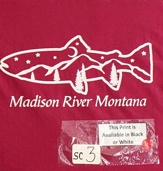 #SC-3 Madison River Fish