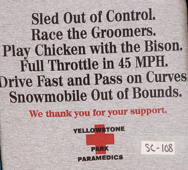 #SC-107 Yellowstone Paramedics Snowmobile Edition
