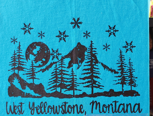 #SC-86 West Yellowstone, Montana Snowflakes