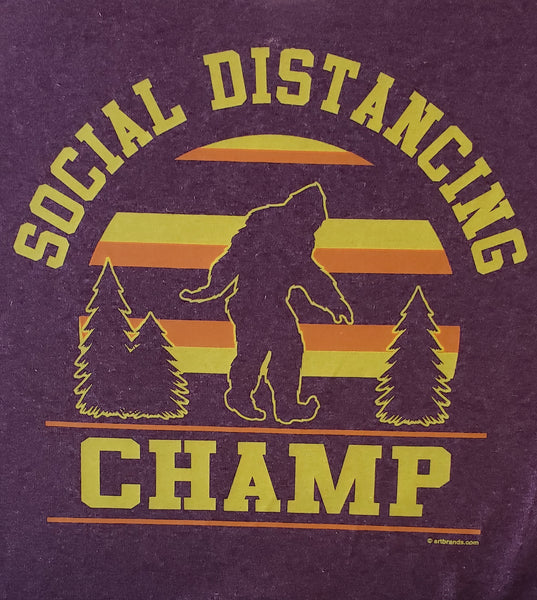 #34 Social Distancing Champ