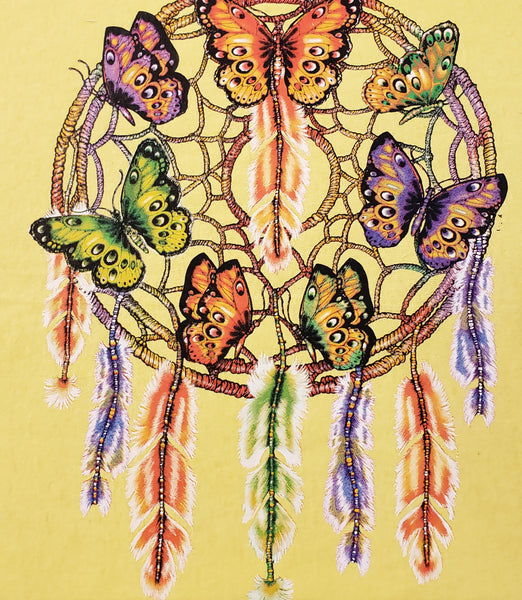 #243 Butterfly Dream Catcher