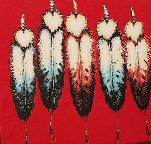 #126 Beaded Feathers