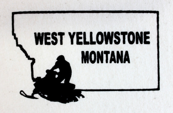 Montana Snowmobile Pocket-Sized Prints