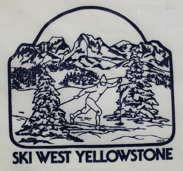 Ski West Yellowstone Print