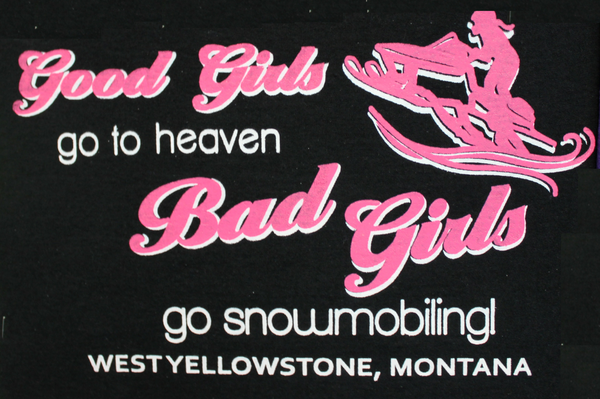 Bad Girls Go Snowmobiling