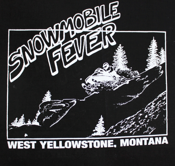 Snowmobile Fever Print