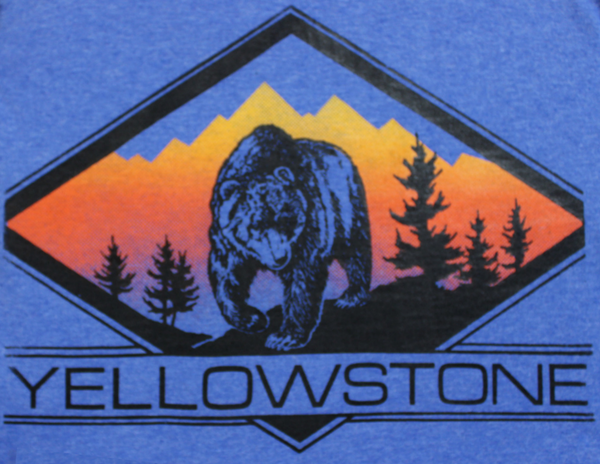 #SC-24 Yellowstone Diamond Bear
