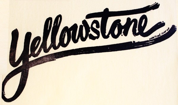 #SC-26 Yellowstone Paintbrush Script