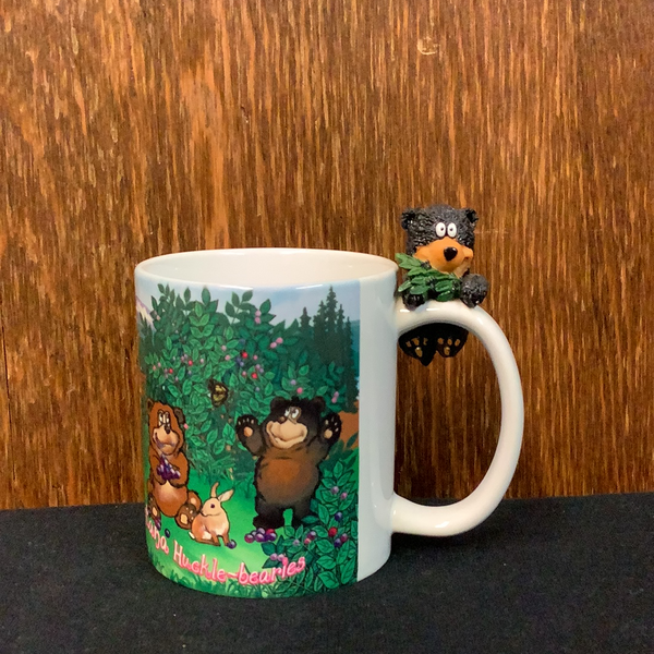 I Love Montana huckle-bearies mug
