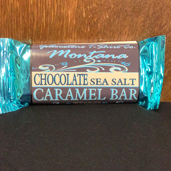 Montana chocolate sea salt caramel bar