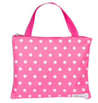 Beauty Basics Pink Polka Dot Carrying Case