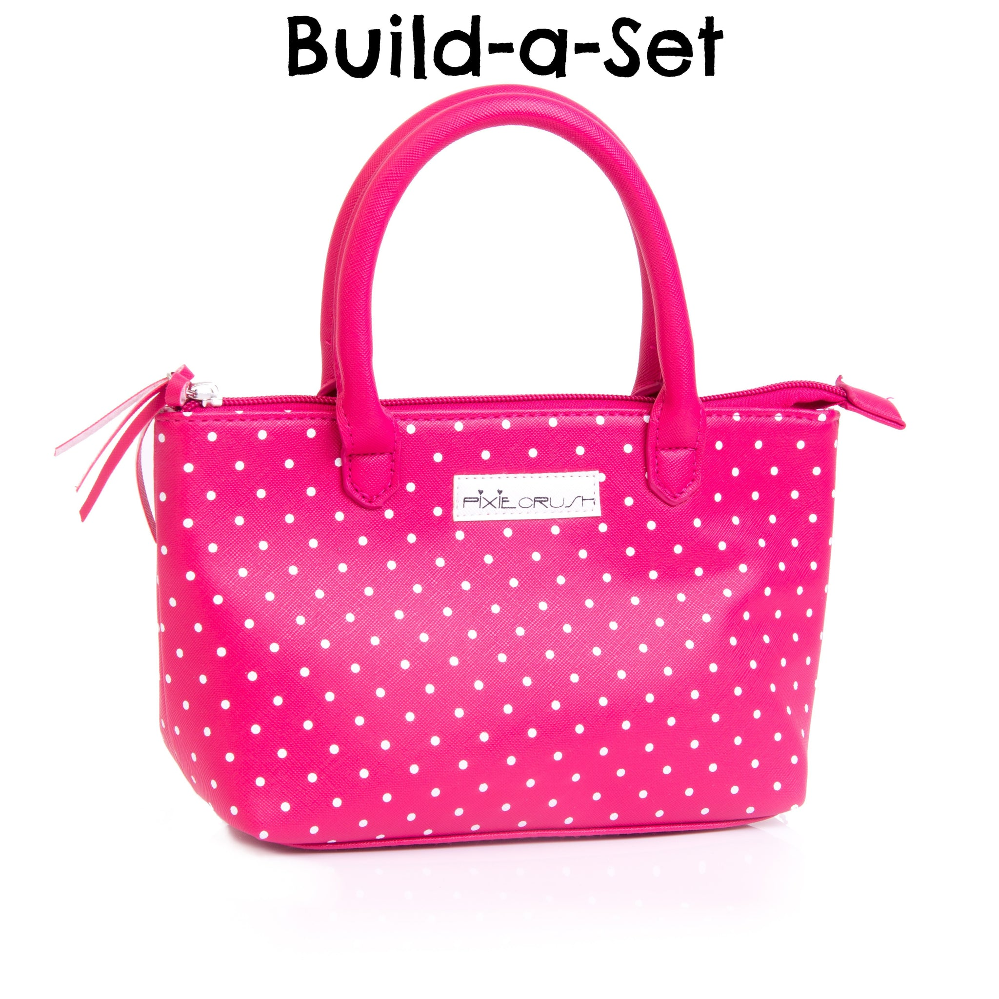Build-a-Set - Pink Polka Dot Purse