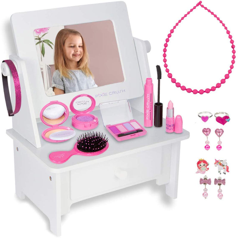 Wooden Desktop Vanity Play Set