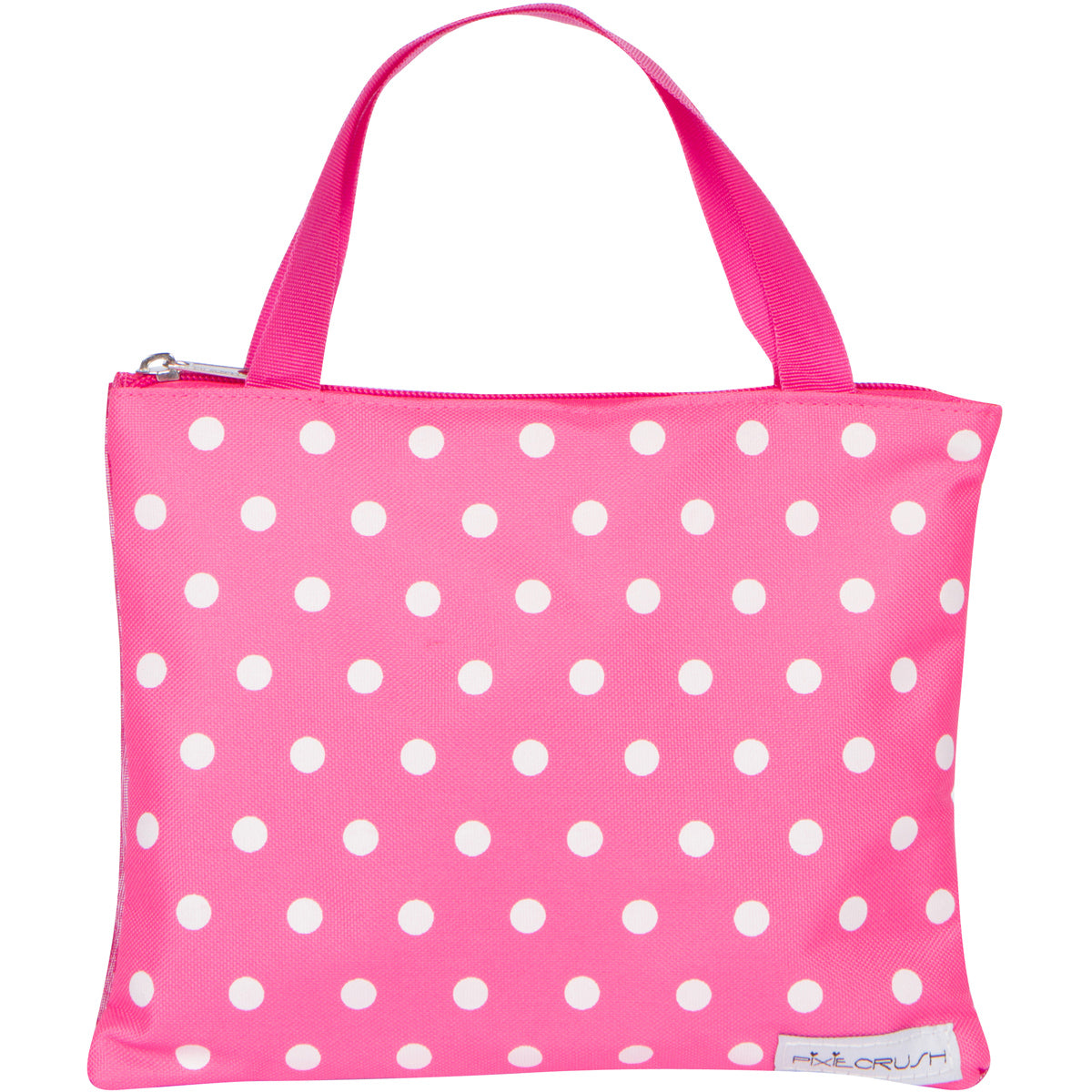 Deluxe Pink Polka Dot Carrying Case