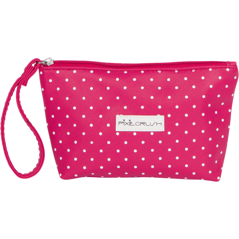 "Pink Polka Dot ""Me"" Makeup Bag"