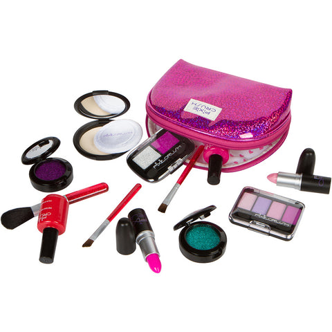 Designer Purple Sparkle Pretend Makeup Kit