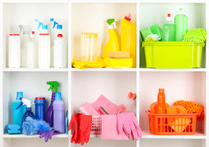 Decide which household chores are critical, and  let go of the rest.